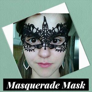 Sexy Black Lace Mask (A2)
